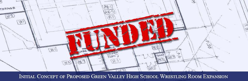 Green Valley High School Foundation's Wrestling Room Expansion Concept